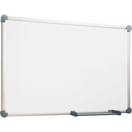 MAUL Weißwandtafel 2000, Emaille, (B)1.800 x (H)900 mm, grau