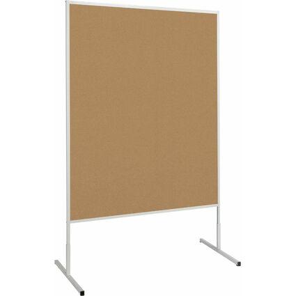 MAUL Moderationstafel standard, (B)1.200x(H)1.500 mm, braun