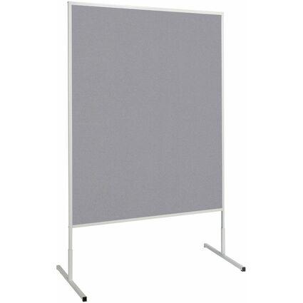 MAUL Moderationstafel standard, (B)1.200 x (H)1.500 mm, grau