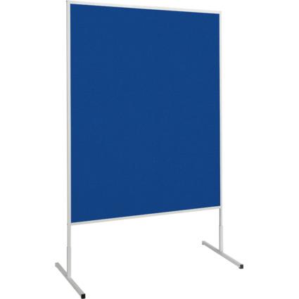 MAUL Moderationstafel standard, (B)1.200 x (H)1.500 mm, blau