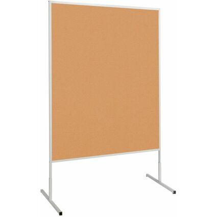 MAUL Moderationstafel standard, (B)1.200 x (H)1.500 mm, Kork