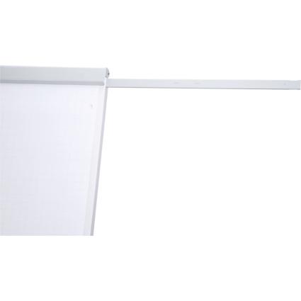 MAUL Papierhalter für Flipchart funktionell, grau