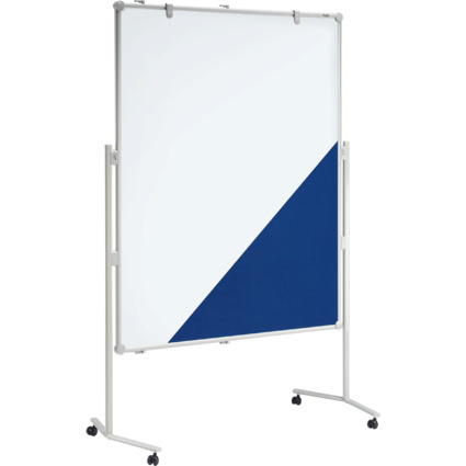 MAUL Moderationstafel professionell, 1.200 x 1.500 mm, blau