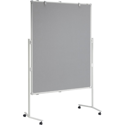 MAUL Moderationstafel professionell, 1.200 x 1.500 mm, grau