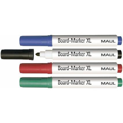 MAUL Whiteboard-Marker, sortiert, 4er-Set, Größe: S