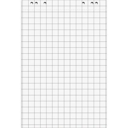 MAUL Flipchart-Block, kariert, 80 g/qm, 675 x 980 mm