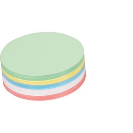 MAUL Moderationskarten, rund, Durchmesser: 95 mm
