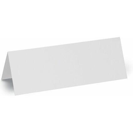 MAUL Tisch-Namensschilder, Karton, weiß, (B)210 x (H)75 mm