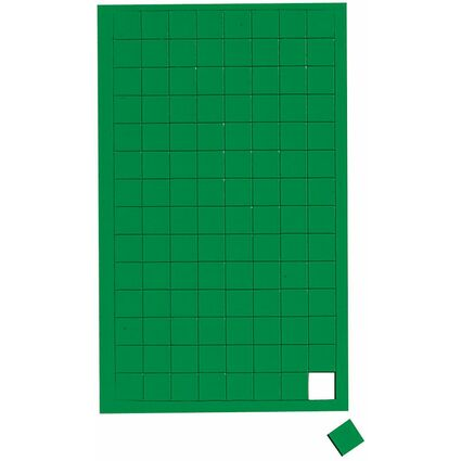 "MAUL Magnetsymbole ""Quadrat"", Maße: 10 x 10 mm, blau"
