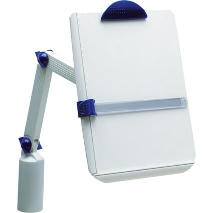 MAUL Konzepthalter mit Klemmfuß und Doppeltragarm, DIN A4