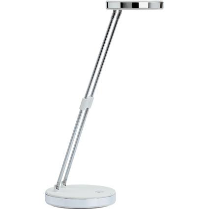 MAUL LED-Tischleuchte MAULpuck, Standfuß, weiß