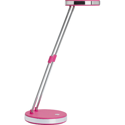 MAUL LED-Tischleuchte MAULpuck, Standfuß, pink