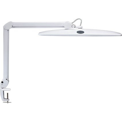 MAUL LED-Arbeitsleuchte MAULwork, Klemmfuß, dimmbar, weiß