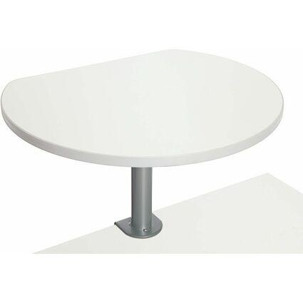MAUL Tischpult mit Tischklemme, (B)600 x (T)510 mm, weiß