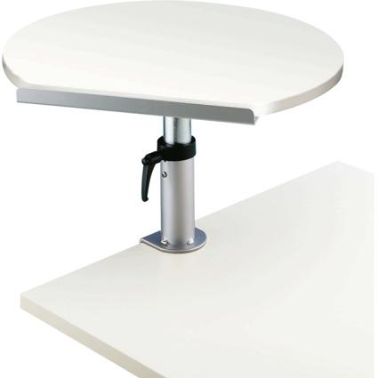 MAUL Tischpult mit Tischklemme, höhenverstellbar, weiß
