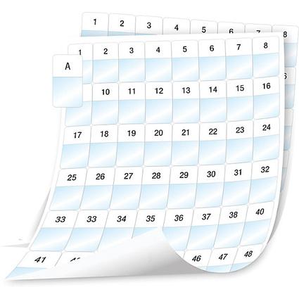 DYMO XTL Kabeletiketten Polyester, schwarz/weiß, 24 x 42 mm