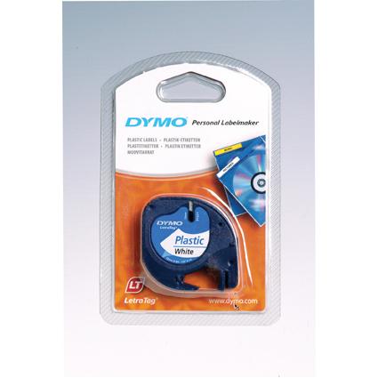 DYMO LetraTag Etiketten-Band 12 mm x 4 m, Kunststoff