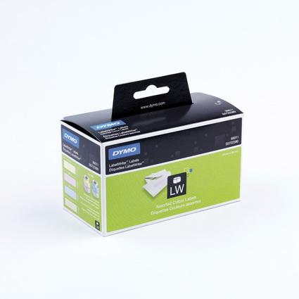 DYMO LabelWriter-Adress-Etiketten, 89 x 28 mm, farbig