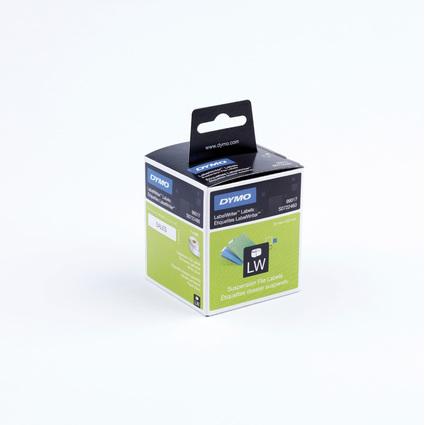 DYMO LabelWriter-Hängeablage-Etiketten, 50 x 12 mm, weiß