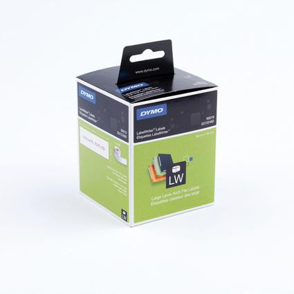 DYMO LabewlWriter-Ordner-Etiketten, 59 x 190 mm, weiß