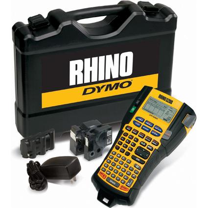 """DYMO Industrie-Beschriftungsgerät """"RHINO 5200"""", im Koffer"""