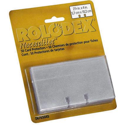 ROLODEX Karteikarten 57 x 102 mm, weiß, Blisterverpackung