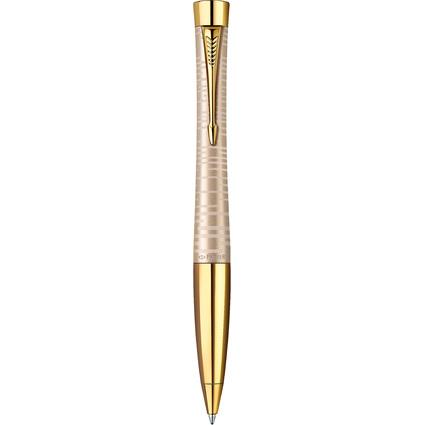 PARKER Drehkugelschreiber URBAN PREMIUM, Golden Pearl G.C.