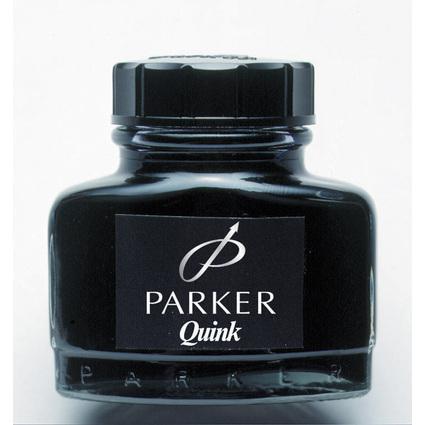 PARKER Tintenflacon QUINK, Inhalt: 57 ml, schwarz