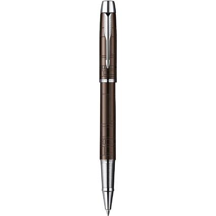PARKER Tintenroller IM, Premium Metallic Brown