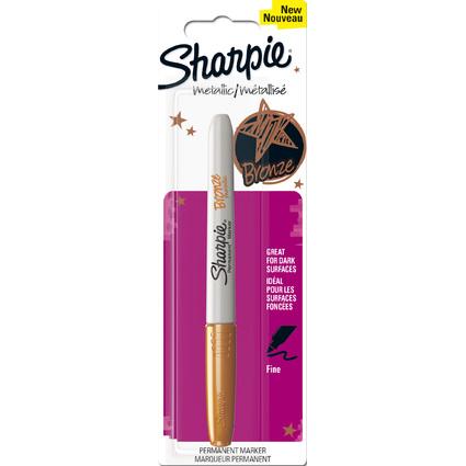 Sharpie Permanent-Marker Metallic, bronze