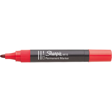 Sharpie Permanent-Marker M15, Rundspitze, rot