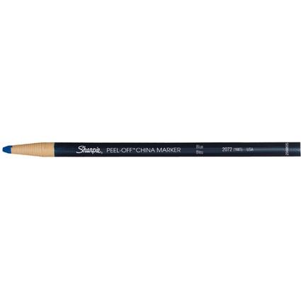 Sharpie CHINA-Marker, Strichstärke: 2,0 mm, blau