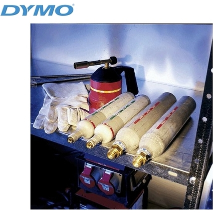 DYMO Prägeband, 12 mm breit, 6,40 m lang, Edelstahl