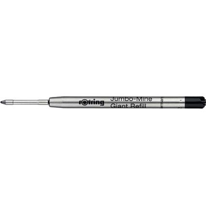 rotring Kugelschreiber-Mine Jumbo, Strichfarbe: schwarz