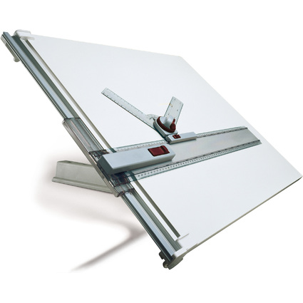 rotring Zeichentisch A2, mit allseitig beschichtetem