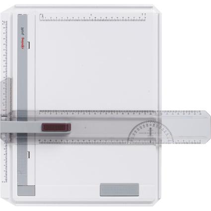 rotring Zeichenplatte profil A4, aus schlagfestem Kunststoff