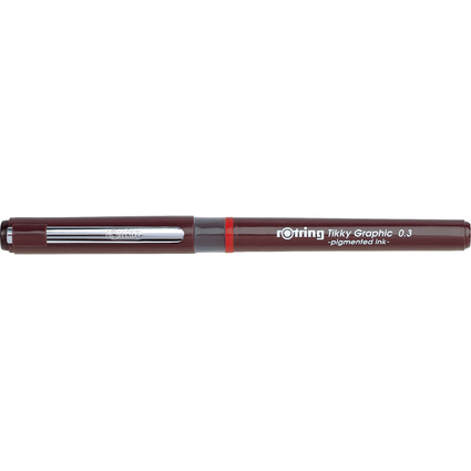 rotring Tikky Graphic Faserschreiber, Strichstärke 0,3 mm