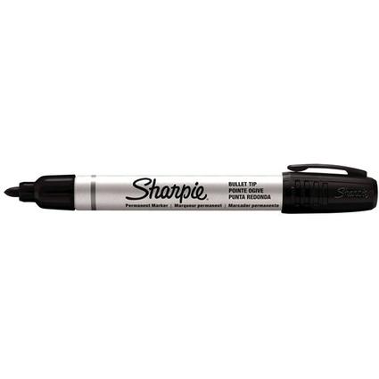 Sharpie Permanent-Marker METAL SMALL, Rundspitze, schwarz