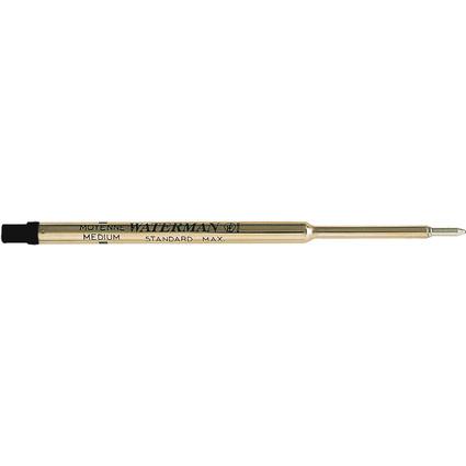 WATERMAN Kugelschreiber-Großraummine, schwarz, Blisterkarte