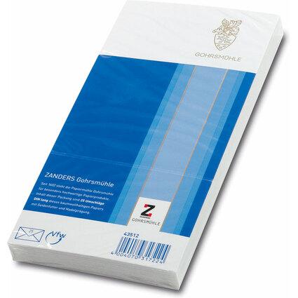 GOHRSMÜHLE Briefumschlag Bankpost, DIN lang, 80 g/qm