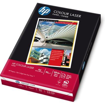 "Original hp Kopier-Papier ""colour laser"", DIN A4, hochweiß"