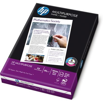 "Original hp Multifunktionspapier ""Multipurpose"", A4, 80 g/qm"