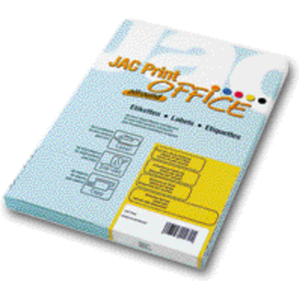 PAPYRUS Adress-Etiketten Jac Print Office allround, weiß