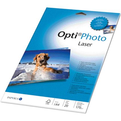 PAPYRUS Laser-Foto-Papier Opti, A4, 170 g/qm