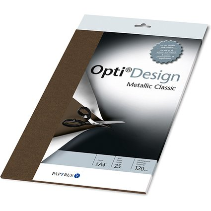 PAPYRUS Designpapier OptiDesign, A4, bronze