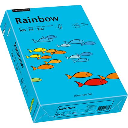 PAPYRUS Multifunktionspapier Rainbow, A4, 160 g/qm, blau