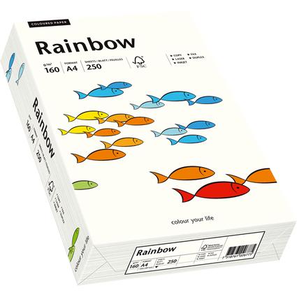 PAPYRUS Multifunktionspapier Rainbow, A4, naturweiß