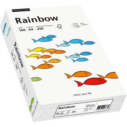 PAPYRUS Multifunktionspapier Rainbow, A4, 160 g/qm, weiß