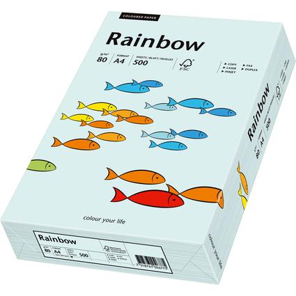 PAPYRUS Multifunktionspapier Rainbow, A4, 80 g/qm, hellblau