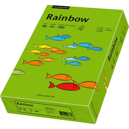 PAPYRUS Multifunktionspapier Rainbow, A4, intensivgrün
